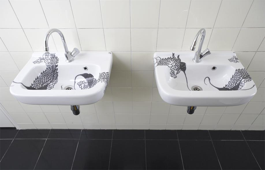 wasbak dragon (Friday Next, Amsterdam)  Esther Derkx # Wasbak Gewicht_224808