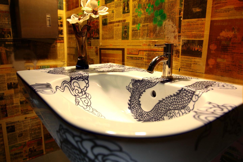 wasbak dragon (restaurant LEEN Utrecht)  Esther Derkx # Wasbak Gewicht_224808