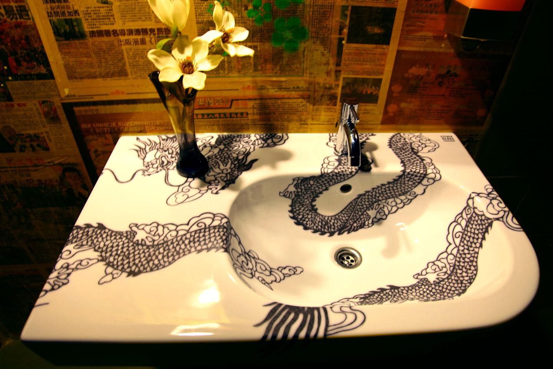 wasbak dragon (restaurant LEEN, Utrecht)  Esther Derkx # Wasbak Gewicht_224808