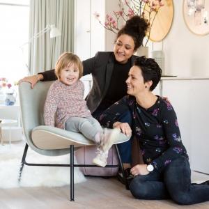 Vt wonen weer verliefd op je huis - foto van het gezin