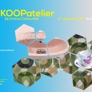Aankondiging van mijn KOOPatelier op 27 september