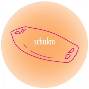 Button-schalen