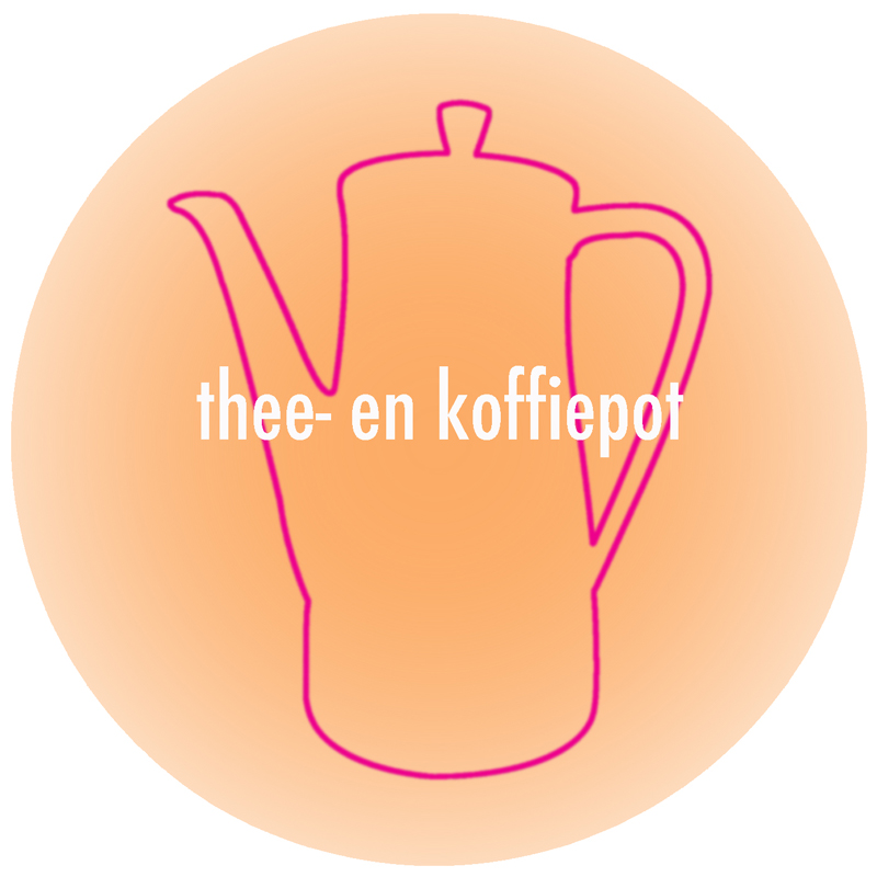 button-thee- en koffiepot