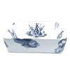 Opzet wasbak met een ontwerp van zeedieren, Neptunus en de draak